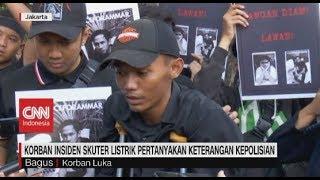 Korban Insiden Skuter Listrik Pertanyakan Keterangan Kepolisian