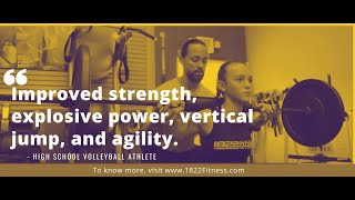 1822 Fitness   Athletic FitCamp® Commercial   Ft. Personal Trainer - Joel Molina  (Volleyball)