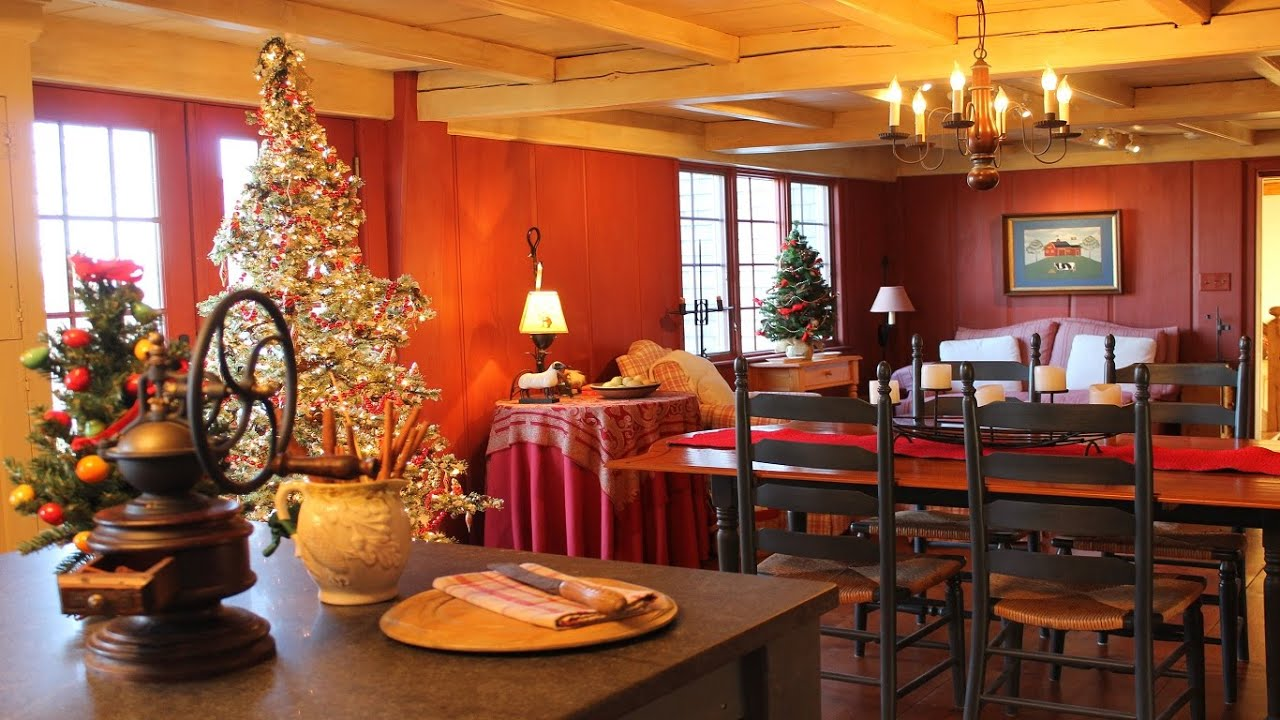 Charming Christmas Kitchen Décor Ideas YouTube - Christmas kitchen decor ideas