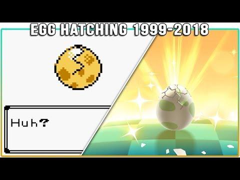 Evolution Of Pokémon Egg Hatching (1999-2018)