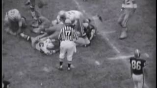 1964 Browns at Cowboys Game 6 Film Clips