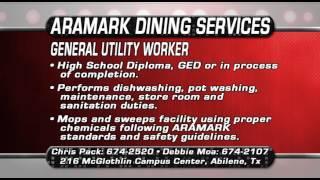 Job Con Aramark General Utility Worker 7 24 14