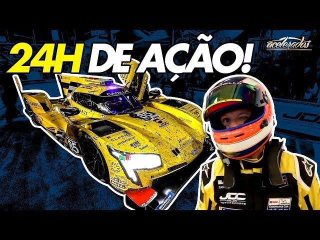 Hora de corrida! Rubinho acelera nas 24H de Daytona debaixo de muita chuva! - Especial #233 pt.2