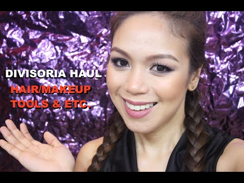DIVISORIA HAUL (HAIR AND MAKEUP TOOLS) - candyloveart
