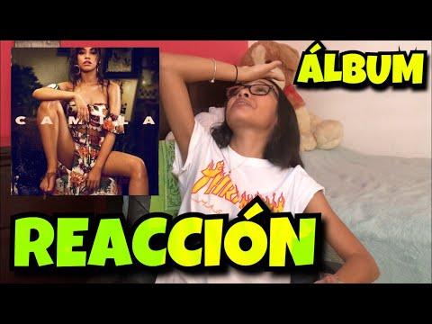 "REACCIONANDO AL ÁLBUM ""CAMILA"" DE CAMILA CABELLO | Alondra Michelle"