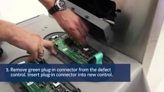 Remplacement d'une platine électronique  machine sous vide BOSS