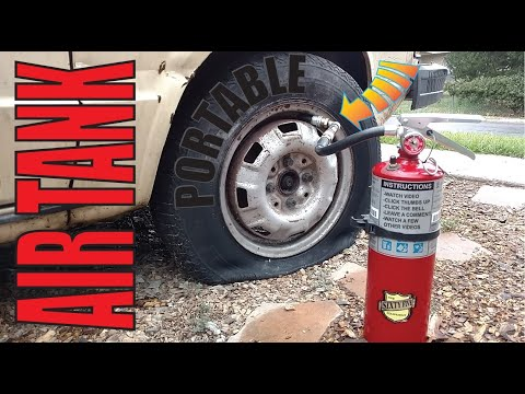Fire Extinguisher Portable Air Tank