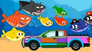 Baby Shark is Building Lego Toy Song + Baby Shark Songs & Cartoons for Kids by OneKid TV