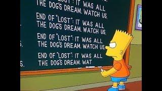 Симпсоны раскрыли тайну сериала LOST