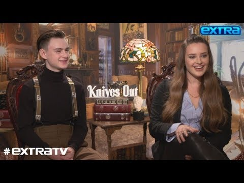 Katherine Langford Reveals Who She Fangirled Over on 'Knives Out' Set
