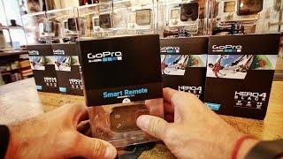 SIX GoPro 4 Black Edition