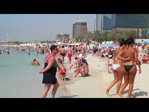 JBR Beach And Walk (Entire Day By The Beach In Dubai)
