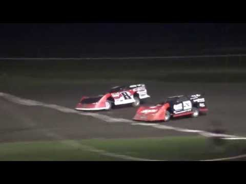 IMCA Late Model feature Benton County Speedway 8/28/16
