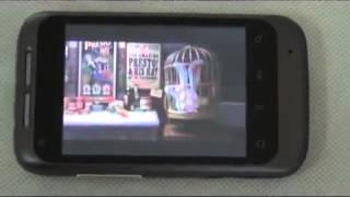 Celular smartphone Android 2.2 A510 com wifi