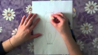 Как нарисовать кота поэтапно. Часть 3.(В данном видео я расскажу о том, как поэтапно нарисовать сидячего кота. Рисуйте с нами в нашей группе http://vk.com..., 2013-05-11T19:42:14.000Z)