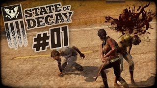 "State of Decay Day One Edition Part 1 - ""I Did My Homework Guys!!!"" 1080p PC Gameplay"
