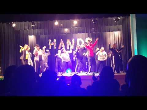 Teachers dance... Rocklin elementary 2015 holiday