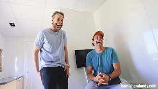 One of Hamish & Andy's most recent videos: