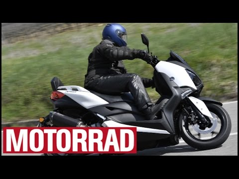 Yamaha X-Max 300 (2017) im Test (English Subtitles)