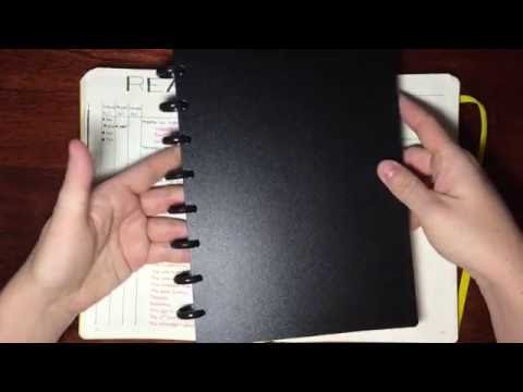 Bullet Journal: Transitioning to a disc bound system