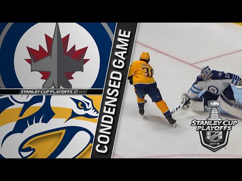 05/05/18 Second Round, Gm5: Jets @ Predators