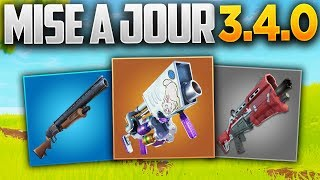 UPDATE 3.4.0 NEW CHASSE AND TACTICS! (Fortnite Patch Note 3.4.0)