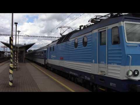 Vlak Baník do Brna
