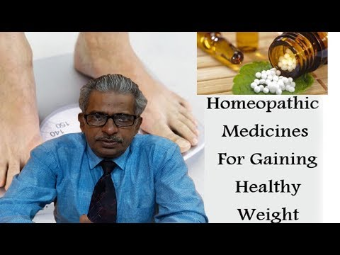 Gain Weight by Homeopathic Medicine by Dr  P S  Tiwari - YouTube