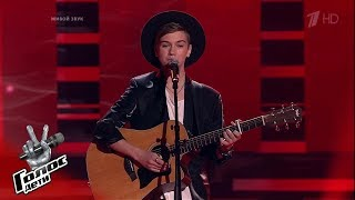 "Ivan Kurgalin. ""Too in love"" - Blind Auditions - Voice.Kids - Season 7"