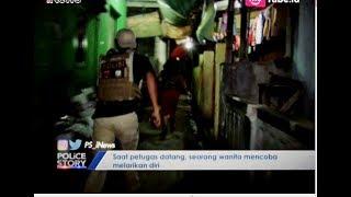 Geledah Panti Pijat Plus-plus di Cilincing, Wanita Ini Lari Kocar-kacir Part 02 - Police Story 25/06
