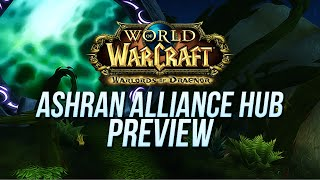 World of Warcraft Warlords of Draenor (Beta): Ashran Alliance Base Preview