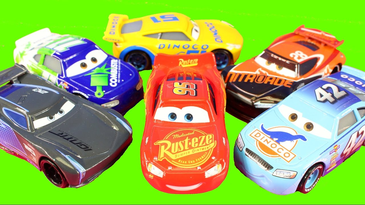Cars 3 New Disney Pixar Cars 3 Learning Colors Learning