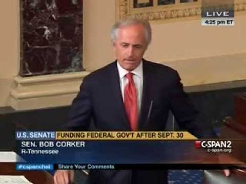 Bob Corker Fights Ted Cruz on Senate Floor: You Voted For Something After 21 Hours Of Filibustering?