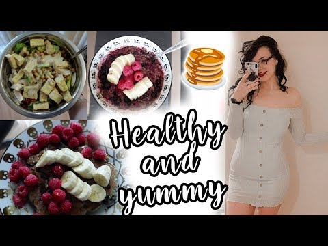 REALISTIC FULL DAY OF EATING | Healthy And Easy Meals!