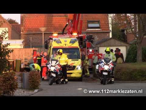 Veel hulpdiensten voor een medische noodsituatie in Sint Philipsland