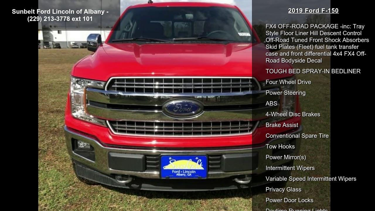 Sunbelt Ford Albany Ga >> 2019 Ford F 150 Youtube