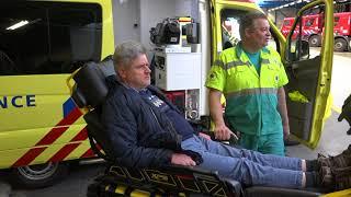 Ambulancechauffeur, de droom van Eugène