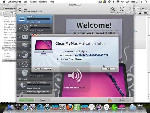 clean my mac activation code
