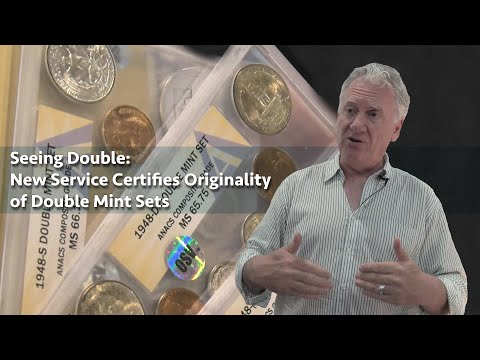 CoinWeek: Double Mint Set Vertification Service OSV Debuts - 4K Video