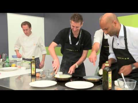 Invensys and Nick Nairn omelette competition - Offshore Europe 2013