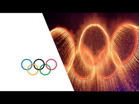 Opening Ceremony - London 2012 Olympics   Industrial Revolution Performance