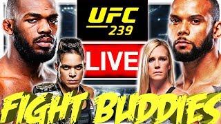 🔴ufc 239 Jones Vs Santos  Nunes Vs Holm Live Fight Reaction
