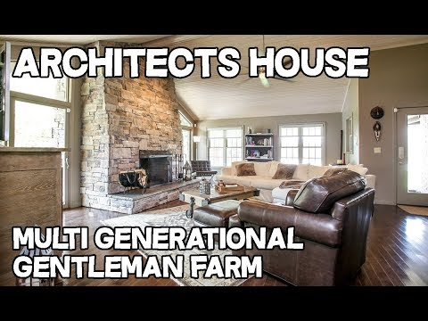 Architects house multigenerational home horse property for Multigenerational homes for sale