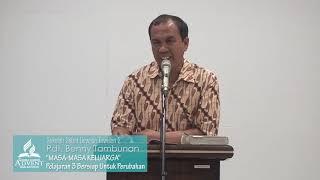 Sekolah Sabat Dewasa Triwulan 2 2019 Pelajaran 3 Bersiap Untuk Perubahan - Pdt. Benny Tambunan