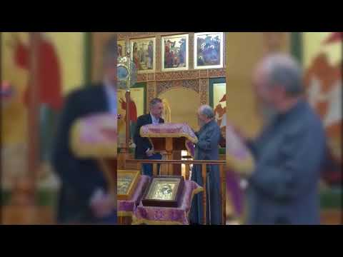 Jordan B Peterson @ Russian Orthodox Cathedral Melbourne
