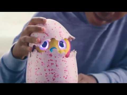 Интерактивный питомец  вылупляется из яйца Hatchimals