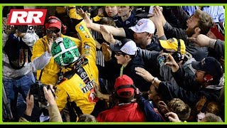 Why Did Kyle Busch Celebrate With Fans In The Stands After Richmond Win?