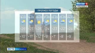 Первый день недели встречает красноярцев по-летнему тёплой погодой