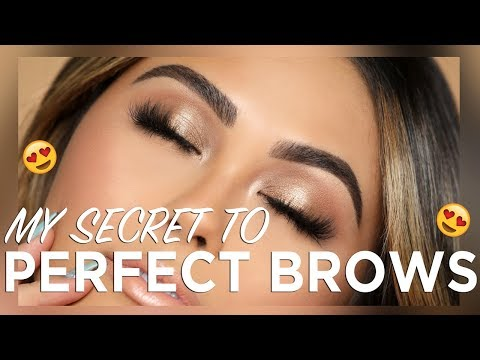 HOW TO: ULTIMATE BROW ROUTINE FOR SCULPTED BROWS | Roxette Arisa