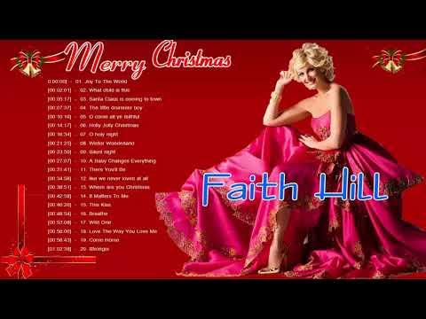 Faith Hill Christmas Songs Collection   Best Christmas Songs Full Album